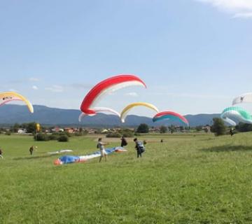 Tečaj paraglidinga